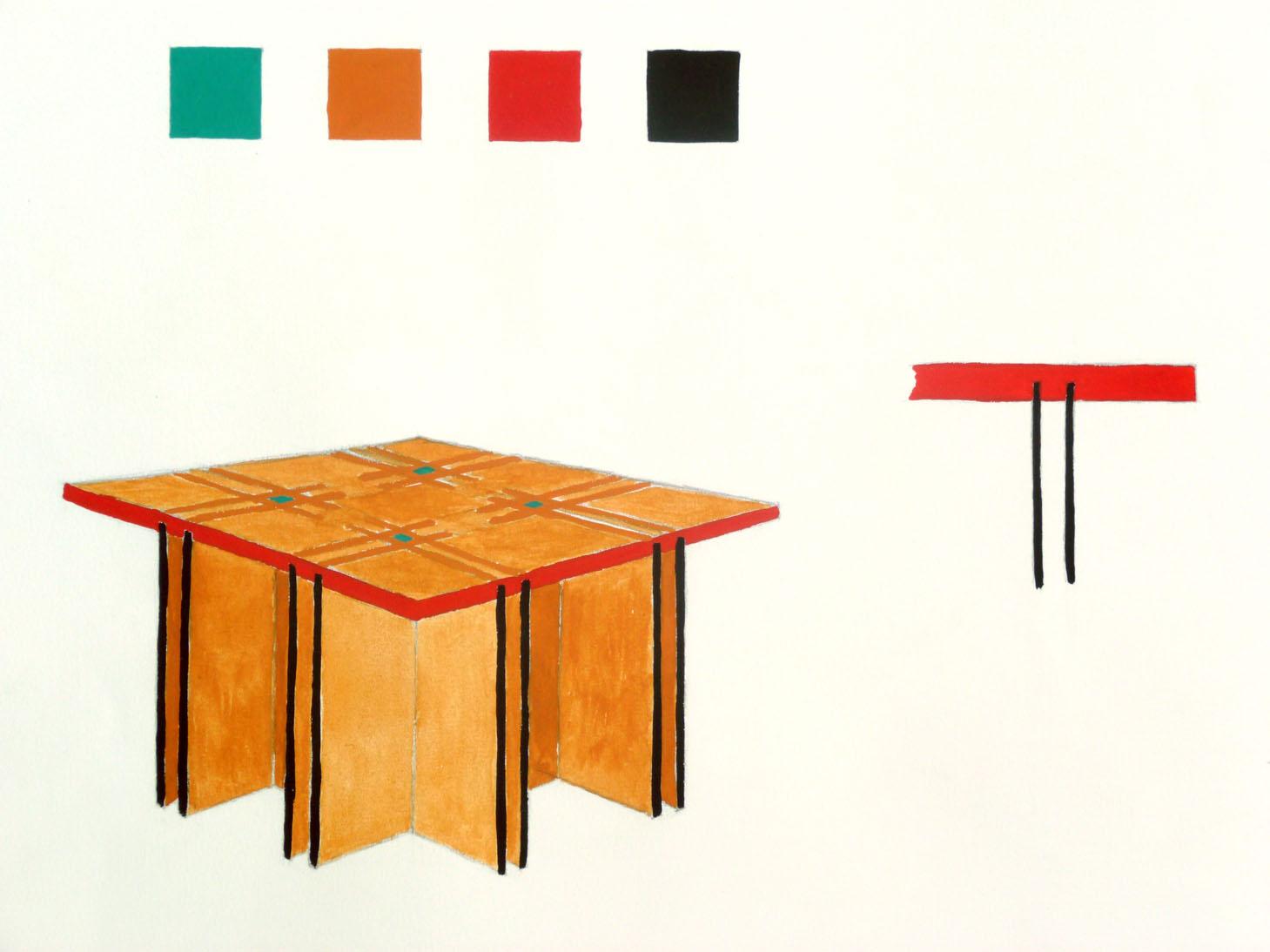 Tavolo Da Disegno Artistico : Scuola cantonale darte csia lugano